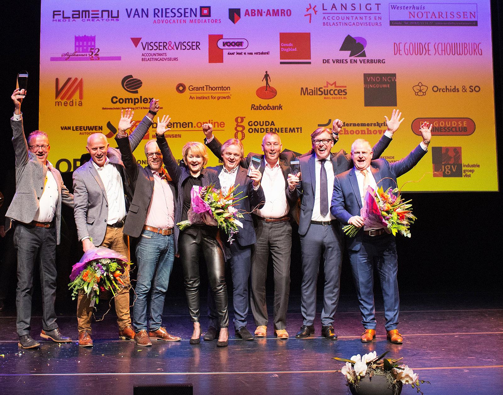 Ondernemers Platform Waddinxveen, Ondernemers, nominatie 2017, genomineerder ondernemersprijs 2018, winaars